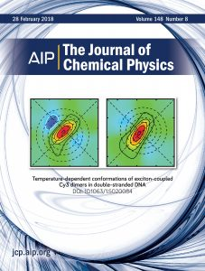 Image: Cover page, Journal of Chemical Physics
