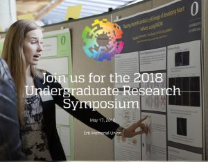photo: UG Research Poster session