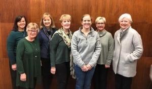 photo: Aletha Anderson, Julie Branford, Jean Josephson, Joan Foley, Amber Rolland, Caron Ogg, Elizabeth Bell
