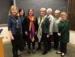 photo: Jean Josephson, Aletha Anderson, Susan Cooper, Joan Foley, Elizabeth Bell, Caron Ogg, Julie Branford