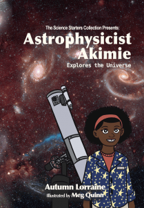 Cover: Astrophysicist Akime