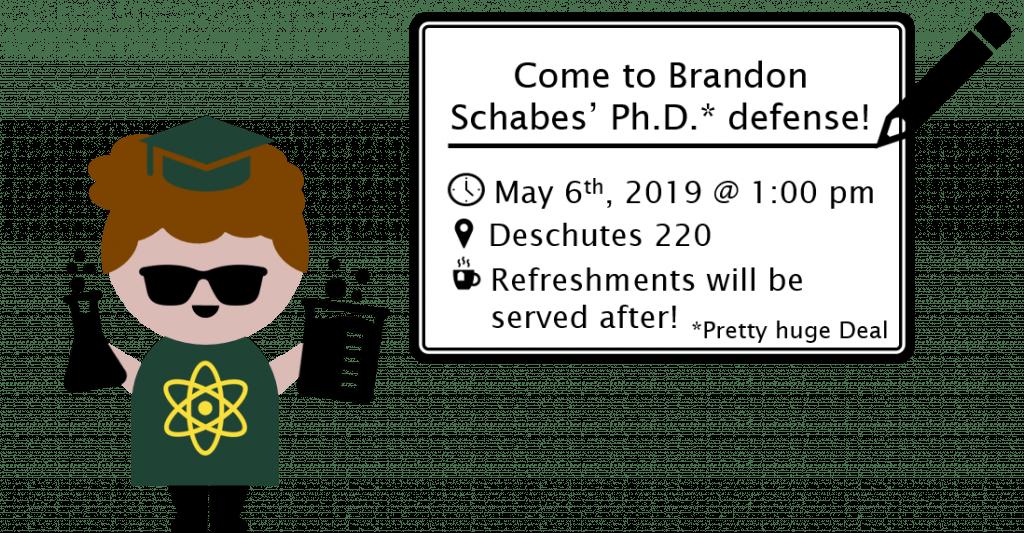 Brandon Schabes Defense Poster