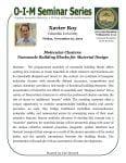 Poster - Xavier Roy Seminar