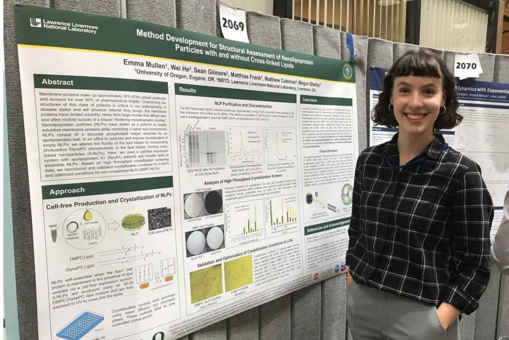 Photo: Emma LLNL Poster Session
