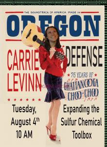 Defense Poster - Carolyn Levinn