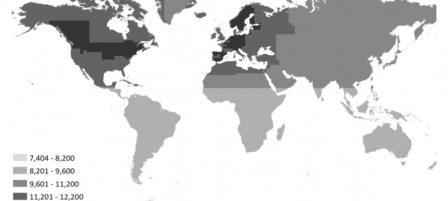 Mapping Global Web Map Services (WMS)