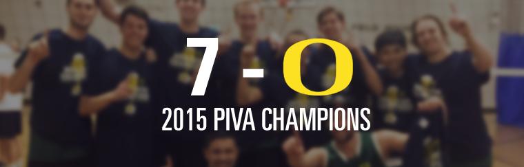 2015 PIVA Champions