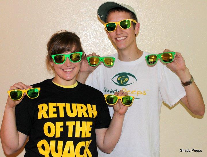 Oregon Ducks Sunglasses  through the looking glasses uo business blogsuo business blogs