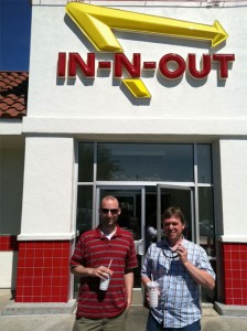 Photos: Entrepreneurs take a burger break at IN-N-OUT