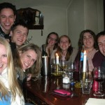 UO MAcc students dining in Utrecht