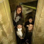 UO MAcc students at the top of Utrecht's Dom Tower