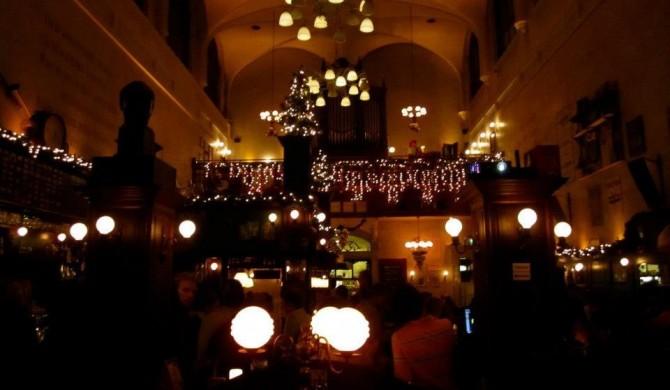 Interior of Café Olivier, in Utrecht