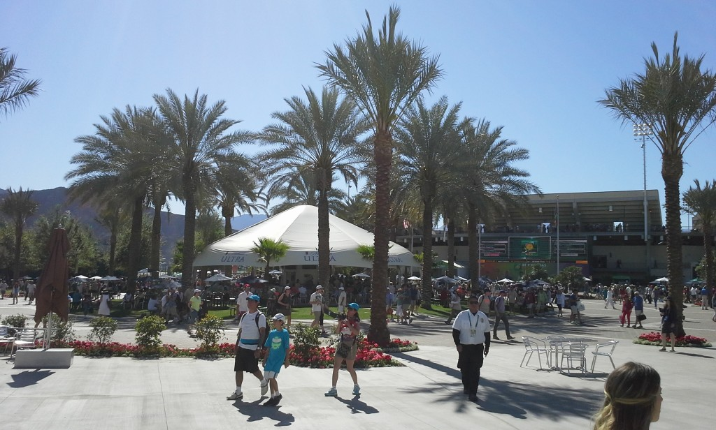 The Indian Wells Tennis Garden