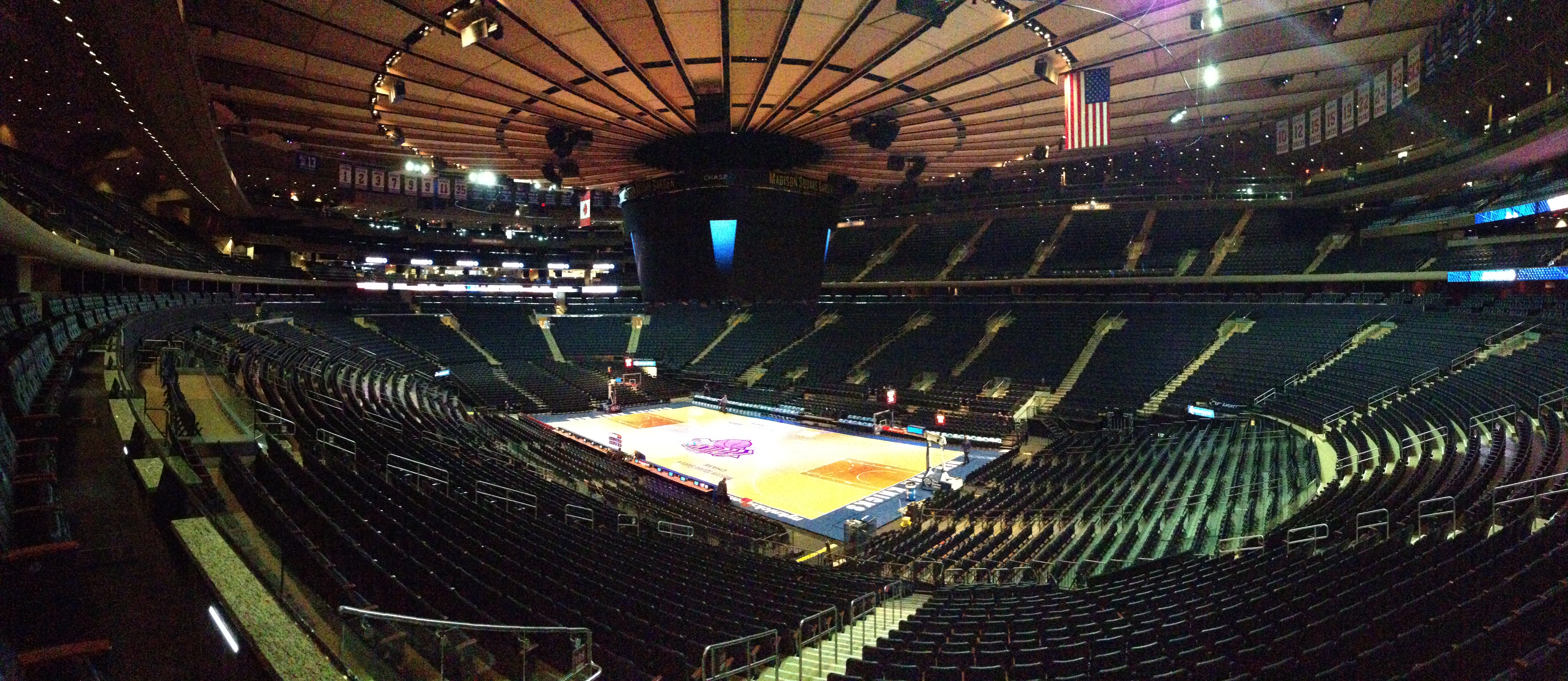 Image Gallery Madison Square Garden Empty