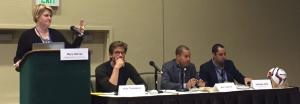 Sports Matters Panel at NI15