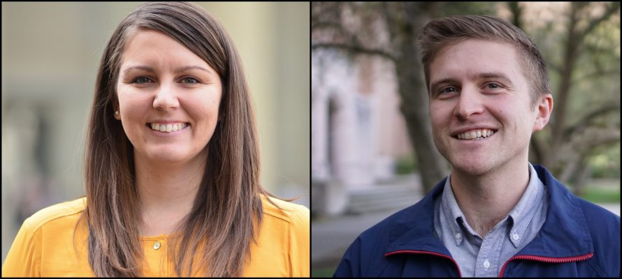Dr. Amanda Cook and Dr. Carl Brozek to Join Chemistry and Biochemistry Faculty