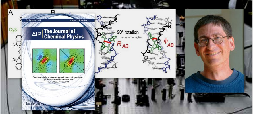 """The Journal of Chemical Physics Selects Marcus Lab Article as """"Editor's Pick"""""""