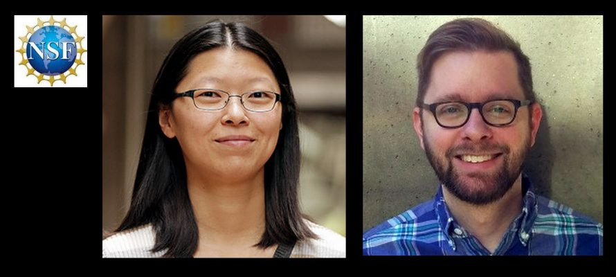 Cathy Wong and Jim Prell Honored with NSF Career Awards