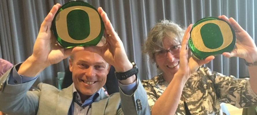 Julie Haack and Jim Hutchison Receive Sustainability Awards