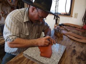 Steve McKay in his workshop. Photo courtesy of Douglas Manger.