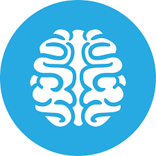 Image result for brain icon blue