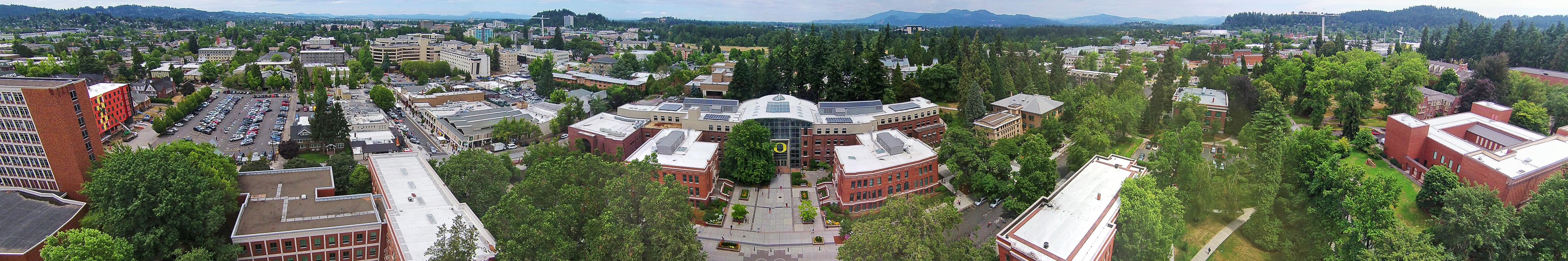 2014-07-22 University of Oregon Lillis Center panorama