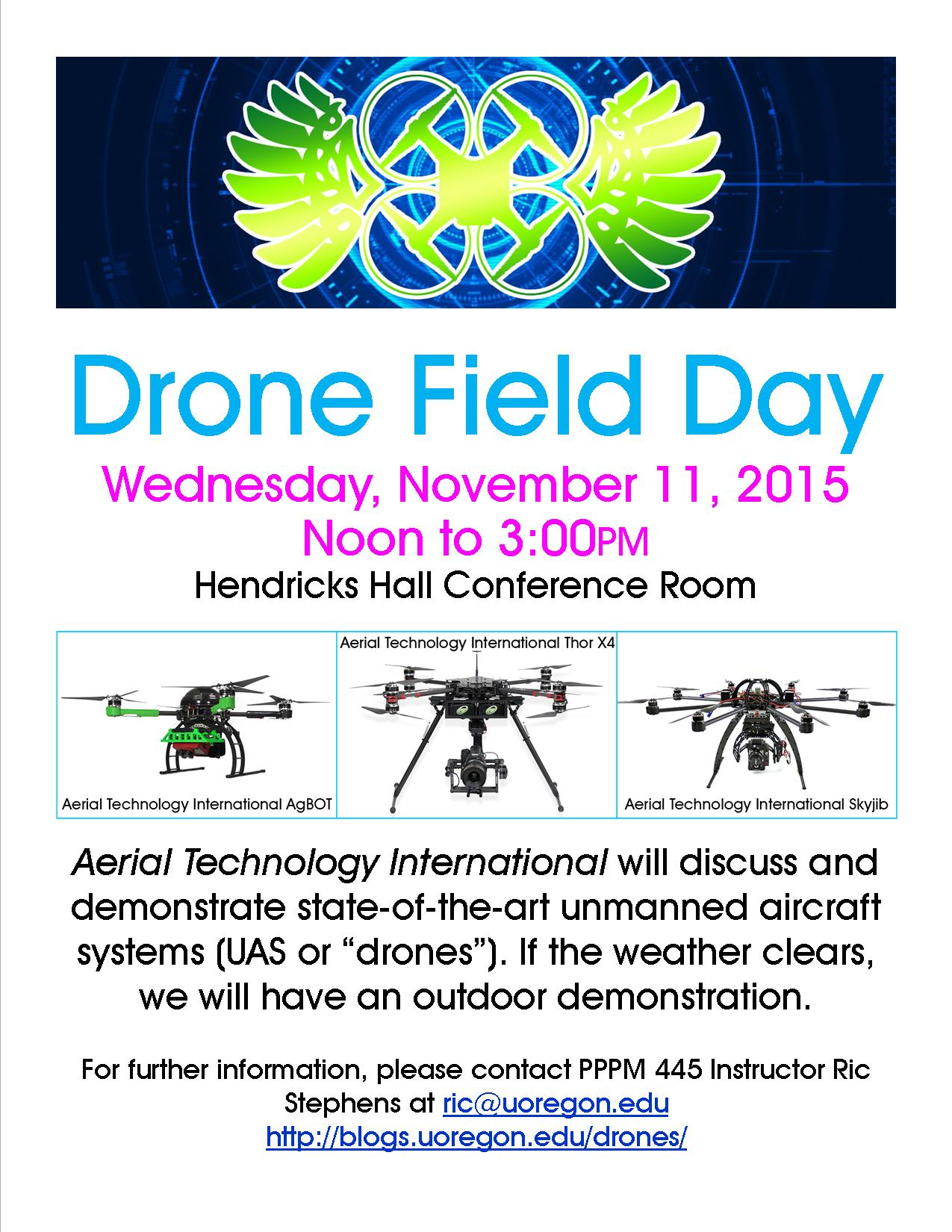 Drone Field Day