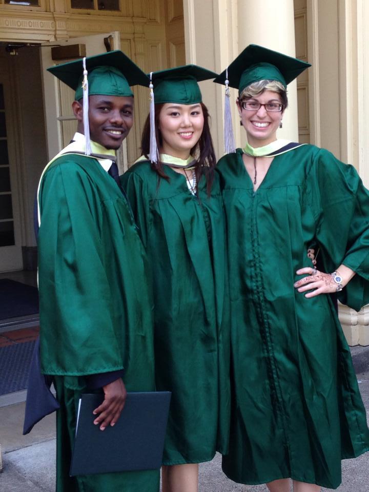Graduation Lindsay DeLand