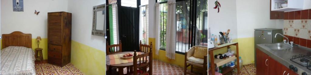 "Apartments Carmen (showing ""Apartment 1"" a 2-bedroom unit)"