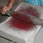 Making cochinil, Teotitlan del Valle