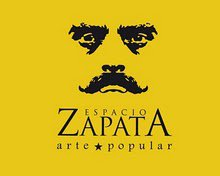 """""""Espacio Zapata,"""" an ASARO workshop and, more recently, a gallery space and shop (Photo, ASARO collective)"""