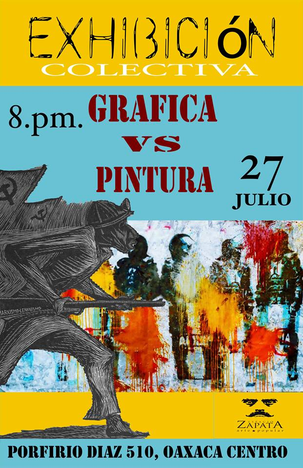 Poster for an exhibition, 2013 (Photo, ASARO collective)