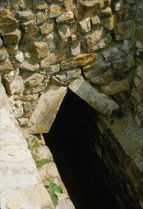 Tomb entrance, Monte Albán (Photo, Robert Haskett, 1982)