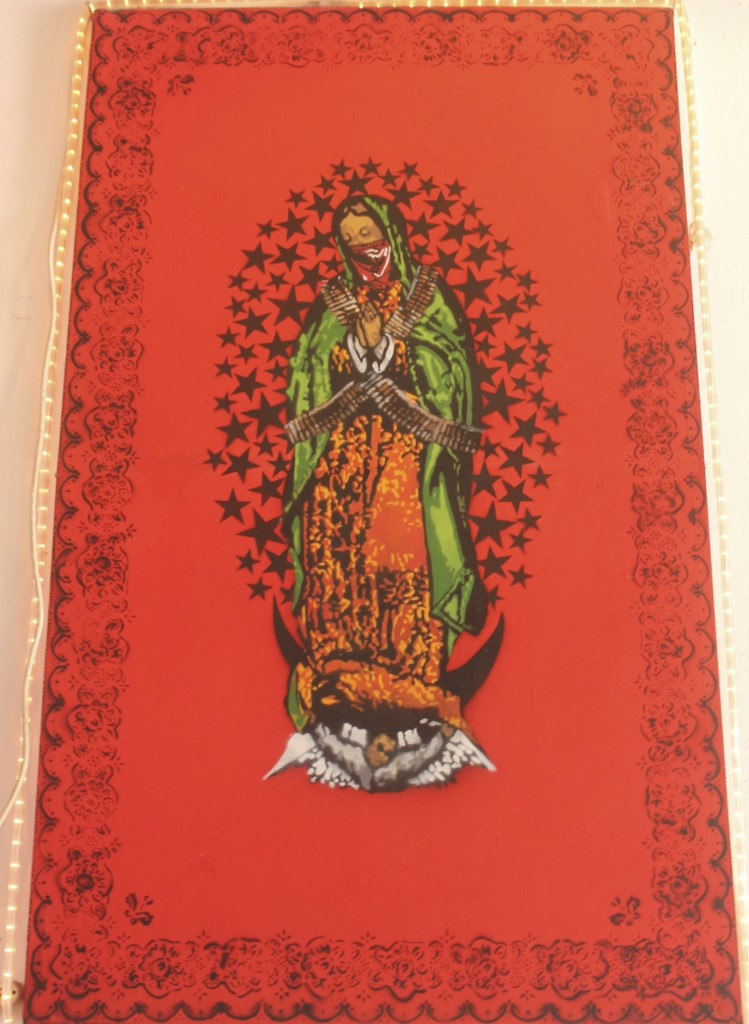 Zapatista Virgin of Guadalupe. Chiapas. Photo, E. Weisenbach. 2013.