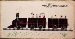 Another Tanivet textile about migration.
