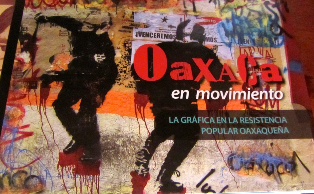 "A book in Spanish about ""Oaxaca in Movement."""