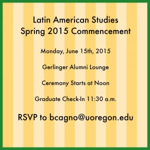Spring Graduation 2015