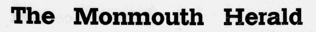 Monmouth herald. (Monmouth, Or.) June 11, 1909. Image 1. http://oregonnews.uoregon.edu/lccn/sn96088093/1909-06-11/ed-1/seq-1/