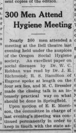 Article about hygiene meeting