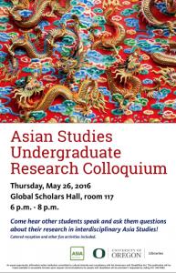 Asian Studies Grad Conf Poster