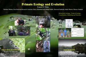 Primate Ecology and Evolution at the University of Oregon France