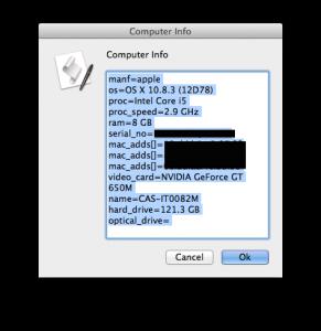 Computer Info AppleScript