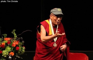 Dalai Lama at Matt Knight Arena