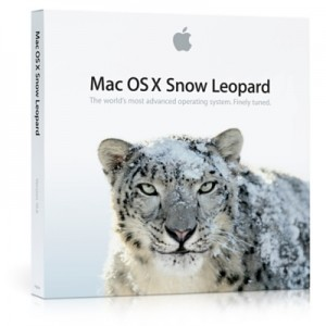 Mac OS X Snow Leopard box