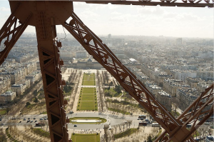 Eiffel Tower Turbine View
