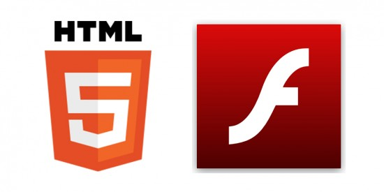 HTML5 and Flash icons