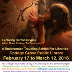 Human Origins Cave Painting Poster