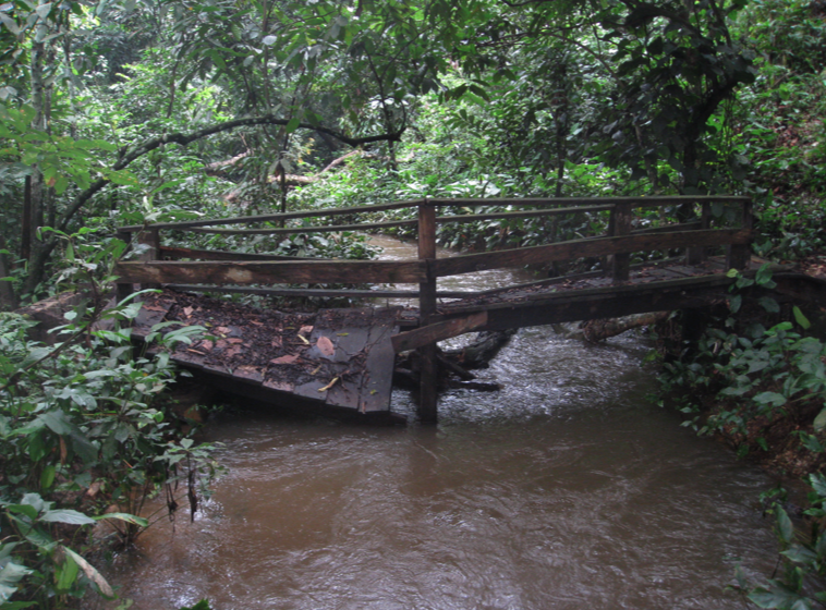 Broken Bridge