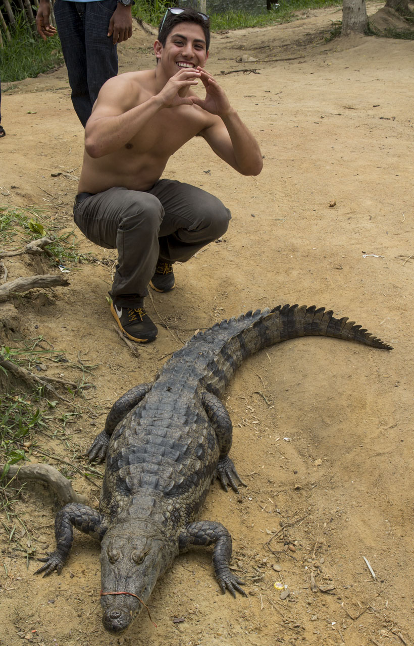 Photos from the Crocodile Sanctuary