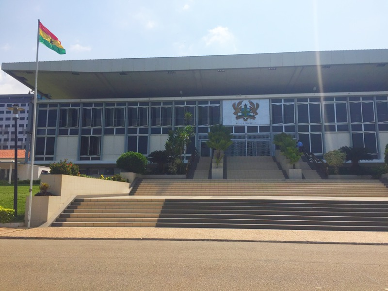 Parliament and Adjusting to the Ghanaian Way of Life